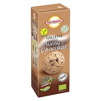 BIO-DARMA Galletas de avena con chocolate 125 g