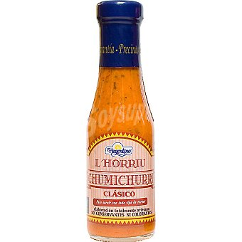 L'horriu salsa chimichurri clásica  frasco 310 ml