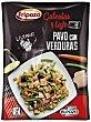 Pavo con verduras calentar y listo microondas Envase 400 g Fripozo