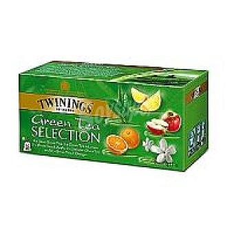 Twinings Té verde seleción Caja 25 sobres
