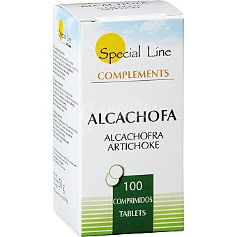 Special Line Alcachofa digestivo depurativo y control de peso envase 100 comprimidos Envase 100 comprimidos