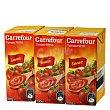 Tomate frito Pack de 3 briks de 390 g Carrefour