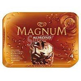 Magnum Frigo Magnum de chocolate con almendras Pack 4x110 ml