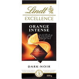 Lindt Tableta Excellence Chocolate de naranja-almendras Tableta 100 g