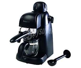 SELECLINE CM4610 Máquina de café espresso (producto económico alcampo), 3.5 bares de presión, vaporizador