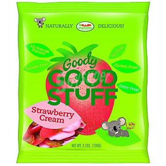 GOODY GOOD STUFF gominolas de crema de fresa sin gluten envase 100 g