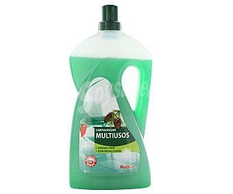 Auchan Producto limpiahogar multiusos aroma pino con bioalcohol 1,5 litros