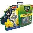 Pulsera antimosquitos repelente Click-Clack caja 1 unidad + 2 recargas + regalo reloj digital sumergible Batman caja 1 unidad + 2  Relec