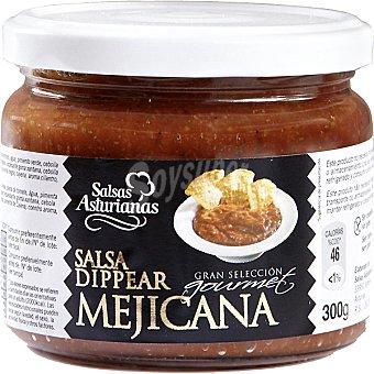 SALSAS ASTURIANAS Salsa dippear mejicana frasco 300 g
