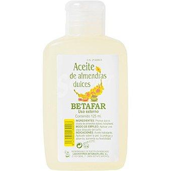 Betafar Aceite de almendras dulces que hidrata, suaviza y repara tu piel Frasco 125 ml