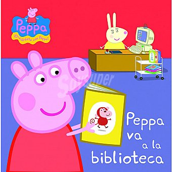 PEPPA PIG Peppa va a la biblioteca. Primera infancia 1 Unidad