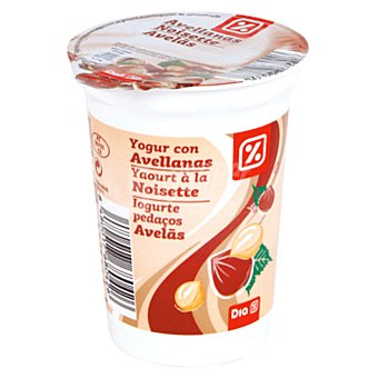 DIA Yogur con avellanas Envase 200 gr