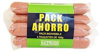 Hacendado Salchicha frankfurt 7 und Pack 4X160 G. - 640 G