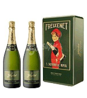Freixenet Estuche metálico con 2 botellas D.O. Cava 75 cl
