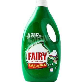 FAIRY detergente máquina liquido para la ropa botella 38 dosis