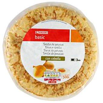 Eroski Basic Tortilla de patata con cebolla 1 unid