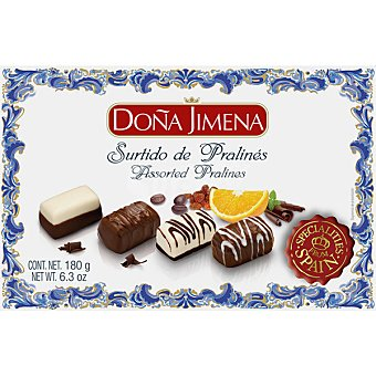Doña Jimena Surtido de pralinés Estuche 180 g