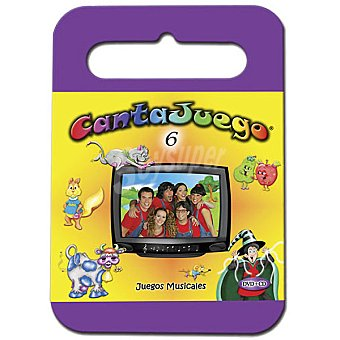 CANTAJUEGO Volumen 6, incluye DVD y CD