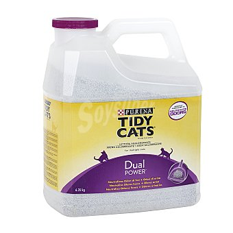 Purina Tidy Cats Arena para gato dual power aglomerante Envase de 6.35 kg
