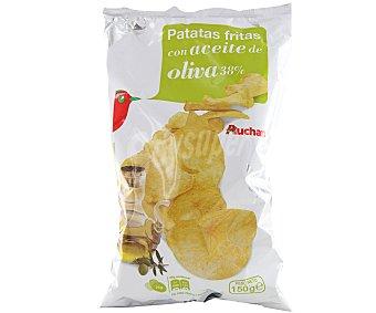 Auchan Patatas fritas con aceite de oliva 150 gramos