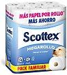 Papel higiénico megarollo 24 rollos Scottex