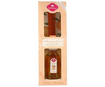 Cristalinas Ambientador de varillas con aroma azahar y mandarina (armonía) 90 mililitros