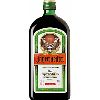 JAEGERMEISTER Licor de hierbas botella 1 l 1 l