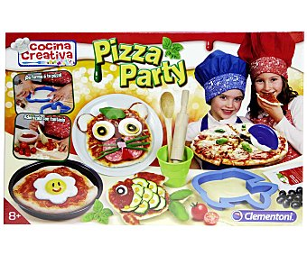 CLEMENTONI Juego de Cocina Creativa Pizza Party 1 Unidad
