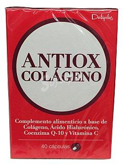 Deliplus Capsulas antiox-colageno (contienen acido hialuronico) Paquete 40 u