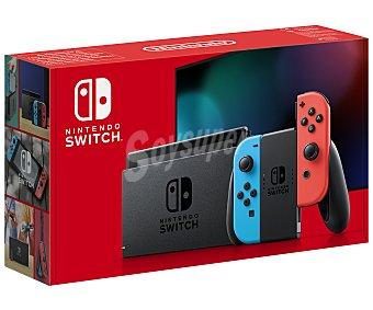 Nintendo Consola Nintendo Switch edición 2019 con joy con color azul y rojo nintendo Switch 2019