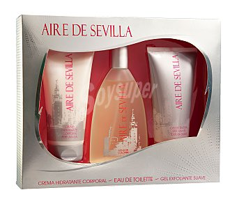 Aire de Sevilla Estuche colonia+crema Corporal Pack 150 Mililitros + 200 Mililitros