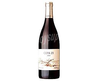 Cepa 21 Vino tinto con denominación de origen Ribera del Duero Botella de 75 cl