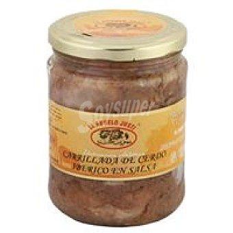 E. Naranjo Carrillada de cerdo ibérico en salsa Lata 400 g