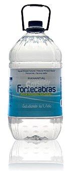 Fontecabras Agua mineral Garrafa de 5 l