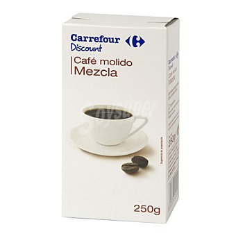 Carrefour Discount Café molido mezcla 250 g