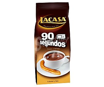 Lacasa Cacao a la taza instantáneo 90 segundos 350 g