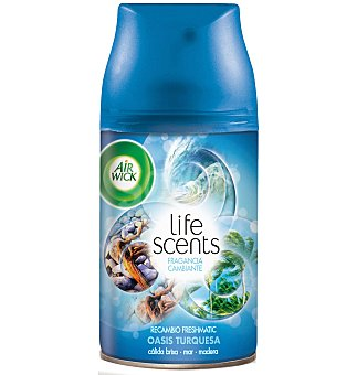Air Wick Ambientador life scents fm oasis turq 250 ml