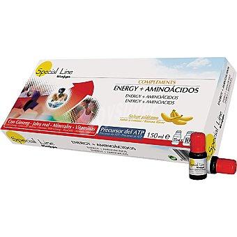 Special Line Complemento energético aminoácidos plátano Estuche 10 unidades
