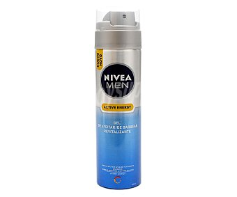NIVEA MEN Active Energy Gel de afeitar revitalizante 200 ml a1e2225ad6fc