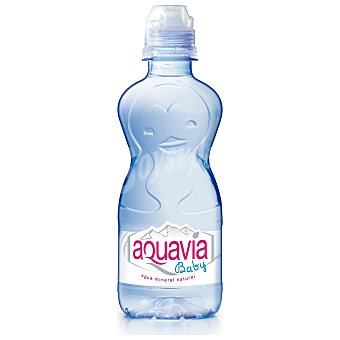 Aquavia Baby agua mineral natural Botella 33 cl