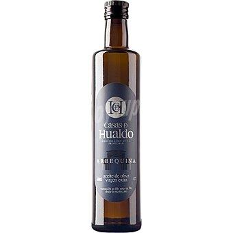 CASA DE HUALDO aceite de oliva virgen extra arbequina botella 500 ml