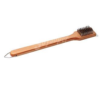 GARDEN STAR Cepillo de madera para barbacoas, 44 centímetros de largo 1 unidad