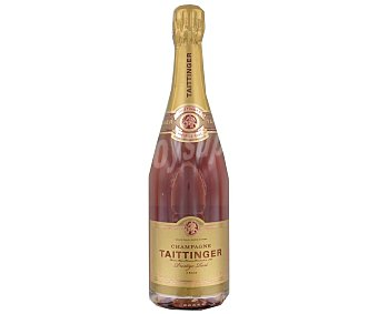 TAITTINGER champagne Prestige Rosé  botella 75 cl