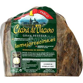 CECINAS PABLO Cecina curada de babilla de vacuno extra Al peso 1 kg