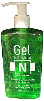 Deliplus After shave aloe vera piel normal con dosificador (envase verde) Botella de 300 cc