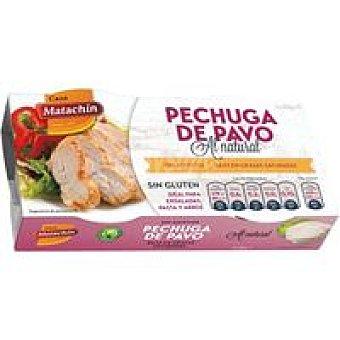 CASA MATACHIN Pechuga de pavo al natural Pack 2x90 g