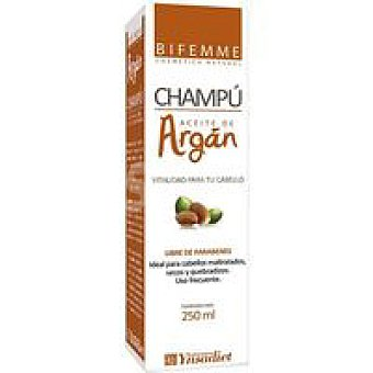 BIFEMME Champú de argán Bote 250 ml