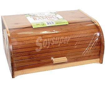 INALSA Caja para pan fabricada en madera de bambú 1 Unidad