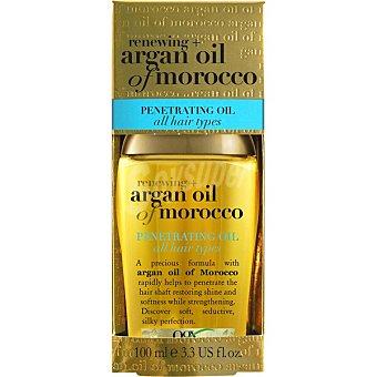 OGX Aceite penetrante para todo tipo de cabello renovador Aceite de Argán de Marruecos Frasco 100 ml