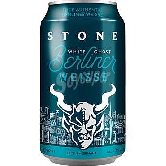 Stone Brewing CO Cerveza rubia Berliner Weisse white ghost de Alemania Lata 35 cl